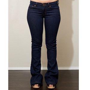 J brand flair jeans size 25 dark wash
